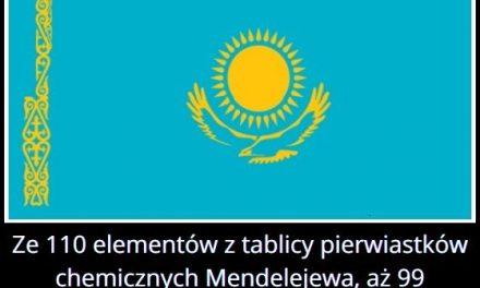 W którym kraju występuje większość pierwiastków z tabeli Mendelejewa?
