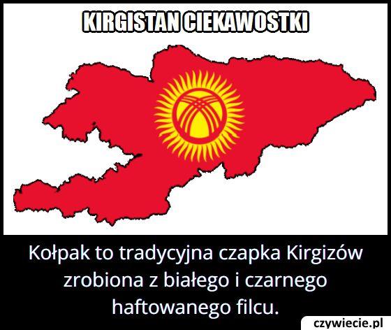Czym w Kirgistanie jest kołpak?