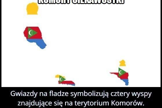 Co oznaczają   gwiazdy na fladze Komorów?