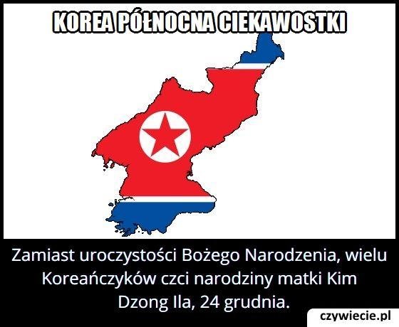 Jakie święto   obchodzi się w Korei Północnej 24 grudnia?