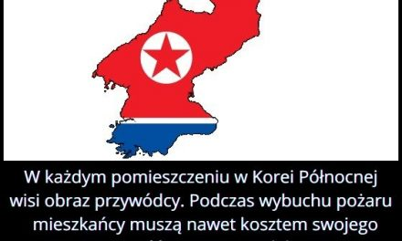 Co znajduje   się w każdym pomieszczeniu w Korei Północnej?
