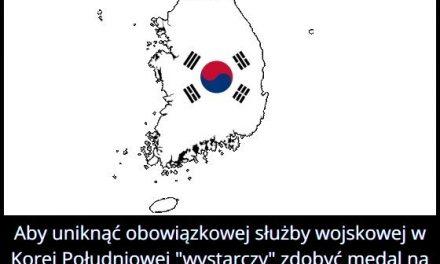 Co trzeba   zrobić, aby uniknąć służby wojskowej w Korei Południowej?