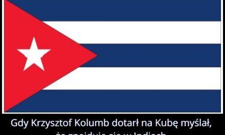 Gdy Krzysztof   Kolumb dotarł na Kubę myślał że znajduje się w…?