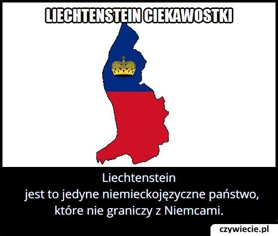 Który kraj niemieckojęzyczny nie graniczy z Niemcami?