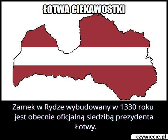 Gdzie znajduje się oficjalna siedziba prezydenta Łotwy?