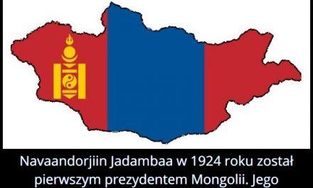 Ile trwała   prezydentura pierwszego prezydenta Mongolii?