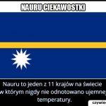 W którym kraju   nie odnotowano nigdy temperatury ujemnej?
