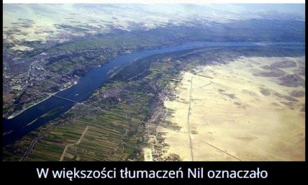 Co oznacza nazwa rzeki Nil?