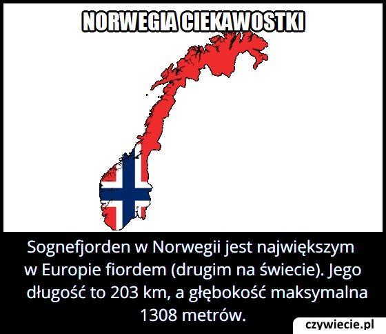 Jaką długość ma największy w Europie fiord?