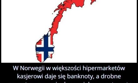 Jak płaci się monetami w większości hipermarketów w Norwegii?