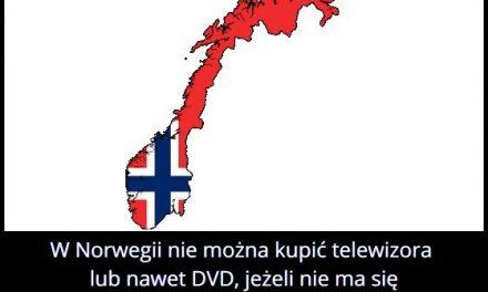 Kiedy w   Norwegii nie można kupić telewizora lub dvd?