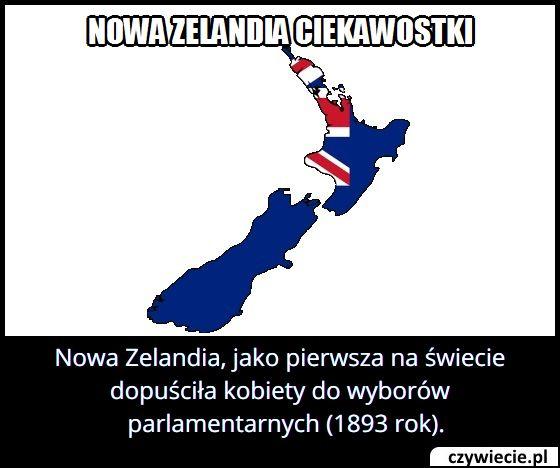 Który kraj jako pierwszy dopuścił kobiety do wyborów parlamentarnych?