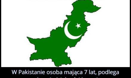 Mając ile lat w Pakistanie podlega się odpowiedzialności karnej?