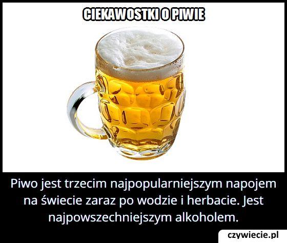 Jaki jest   najpopularniejszy rodzaj alkoholu?