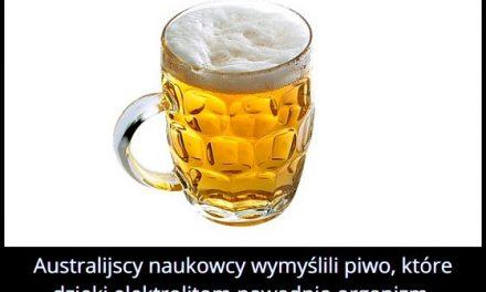 Gdzie wymyślono piwo, które nawadnia organizm?