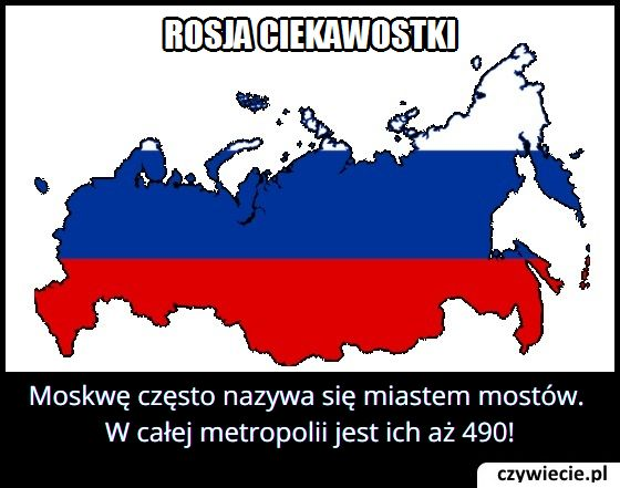 Ile mostów jest w Moskwie?