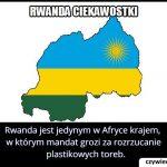 W którym   afrykańskim kraju grozi mandat za wyrzucenie siatki foliowej?