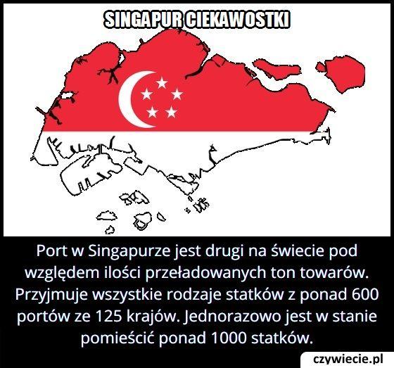 Ile   równocześnie statków może pomieścić port w Singapurze?