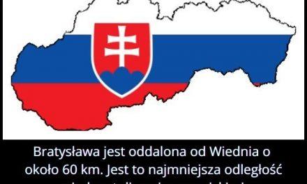 Jaka odległość dzieli Bratysławę i Wiedeń?