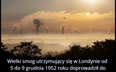 Co do prowadziło do śmierci ponad 12 tysięcy mieszkańców Londynu w 1952 roku?