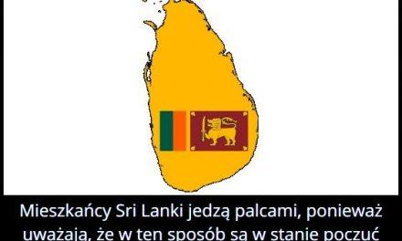 Dlaczego na   Sri Lance potrawy jada się palcami?