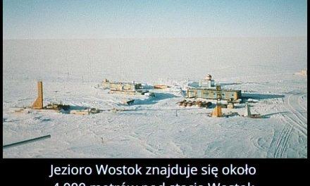 Ile metrów pod   stacją Wostok znajduje się jezioro Wostok?