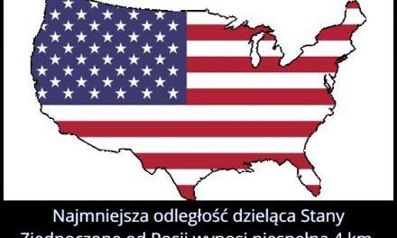 Ile wynosi najmniejsza odległość oddzielająca Rosję od Stanów Zjednoczonych?