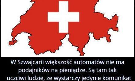 Dlaczego w Szwajcarii większość automatów nie ma podajników na pieniądze?