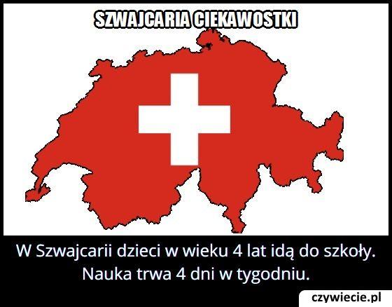W jakim wieku dzieci idą do szkoły w Szwajcarii?