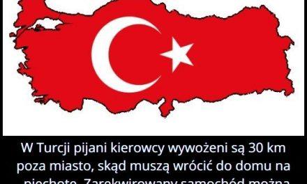 Co robi się w Turcji z pijanymi kierowcami?