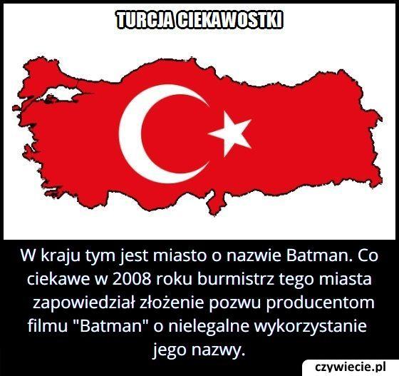 W którym kraju jest miasto o nazwie Batman?