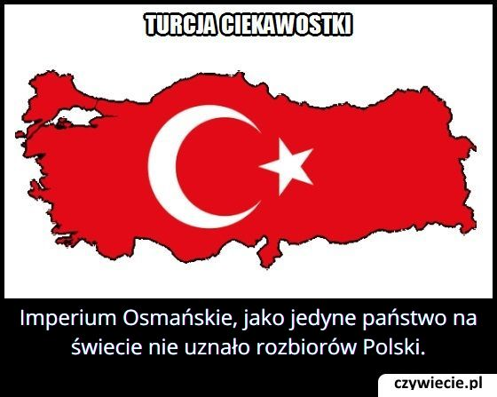 Które państwo   nie uznało rozbiorów Polski?