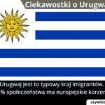 Jaki procent osób w Urugwaju ma europejskie korzenie?