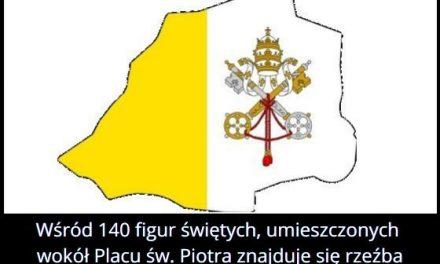 Na placu św. Piotra w Watykanie znajduje się rzeźba Polaka?