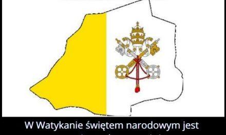 W którym kraju   świętem narodowym jest rocznica wyboru papieża?