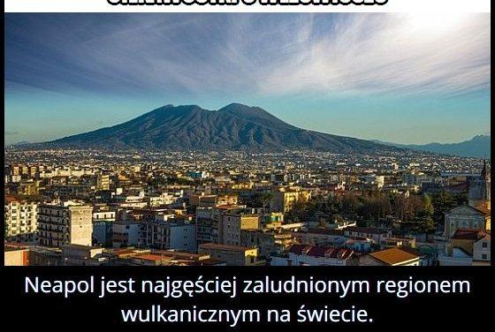 Gdzie znajduje się najbardziej zaludniony region wulkanicznym na świecie?