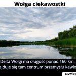 Jaką długość ma delta Wołgi?