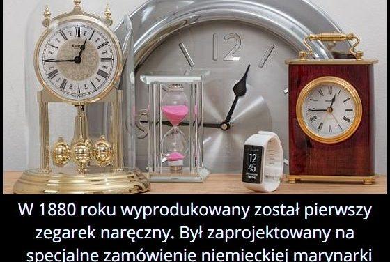 W którym roku   wyprodukowano pierwszy zegarek na rękę?